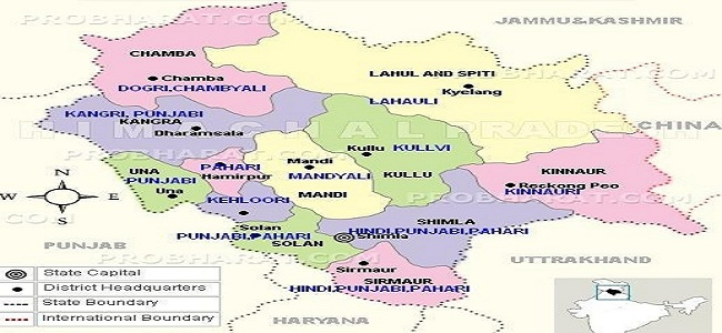 Himachal Distt Wise Language Spoken - Copy