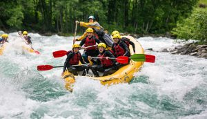 River Rafting - Adventurous Sports