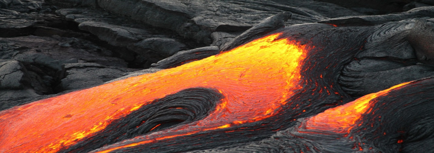 See the Lava Flow at Volcanoes National Park